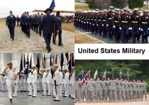 US Armed Forces Basic Training Graduations